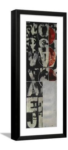 Typography III--Framed Art Print