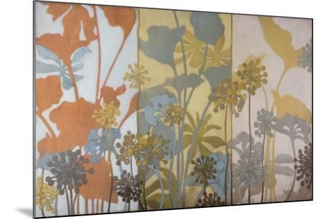 Meadow Pods-Sally Bennett Baxley-Mounted Art Print