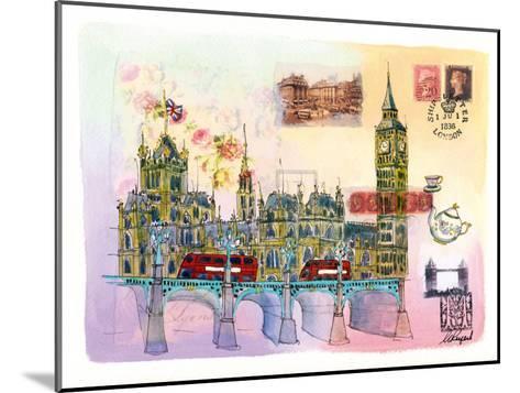Londres Mon Amour-Martine Rupert-Mounted Art Print