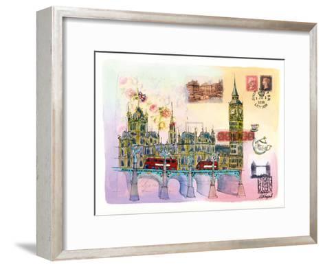 Londres Mon Amour-Martine Rupert-Framed Art Print