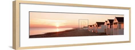 Amber Reflections-Chris Simpson-Framed Art Print
