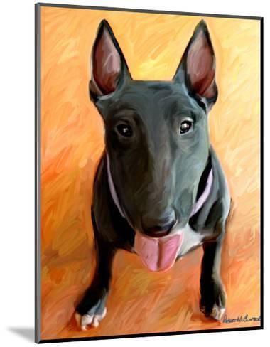 Bull Terrier Rhino-Robert Mcclintock-Mounted Art Print