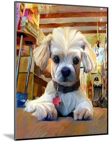 Mazel Dog-Robert Mcclintock-Mounted Art Print