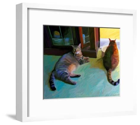 Birdie and Sweepo-Robert Mcclintock-Framed Art Print