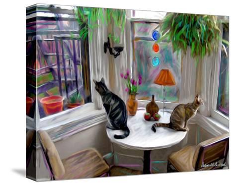 Cat's Messing-Robert Mcclintock-Stretched Canvas Print