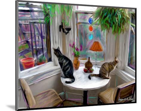 Cat's Messing-Robert Mcclintock-Mounted Art Print