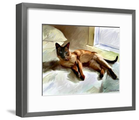 Siamese-Robert Mcclintock-Framed Art Print