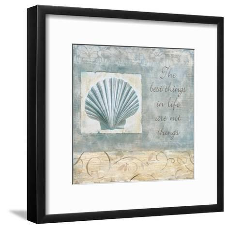 Best Things-Carol Robinson-Framed Art Print
