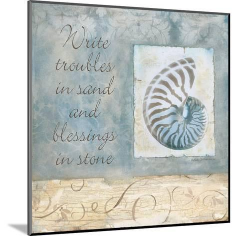 Blessings-Carol Robinson-Mounted Art Print