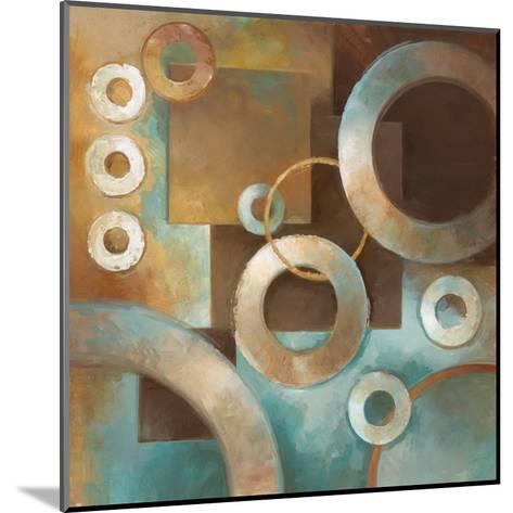 Circular Motion II-Elaine Vollherbst-Lane-Mounted Art Print