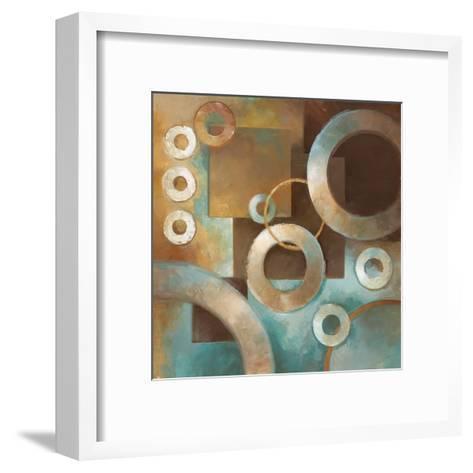 Circular Motion II-Elaine Vollherbst-Lane-Framed Art Print