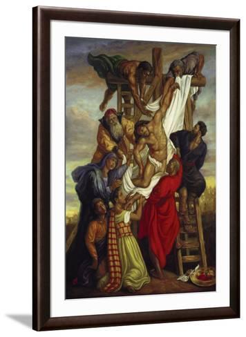 Descent from the Cross-Tim Ashkar-Framed Art Print