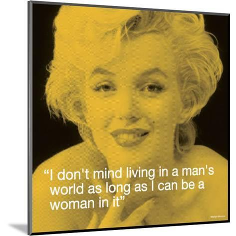 Marilyn: Man's World--Mounted Art Print