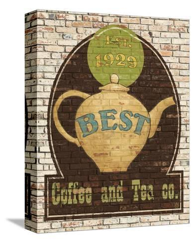 Best Coffee and Tea-Avery Tillmon-Stretched Canvas Print