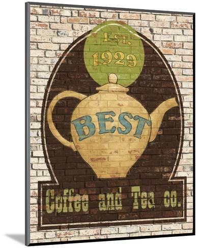Best Coffee and Tea-Avery Tillmon-Mounted Art Print