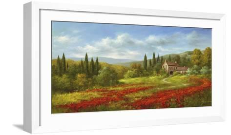 Tuscany Beauty II-Heinz Scholnhammer-Framed Art Print