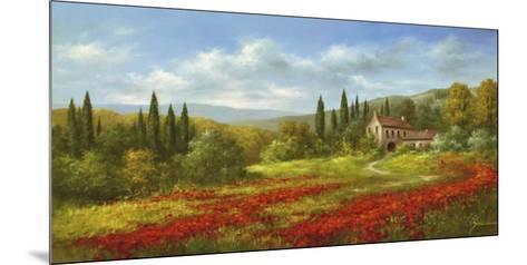 Tuscany Beauty II-Heinz Scholnhammer-Mounted Art Print