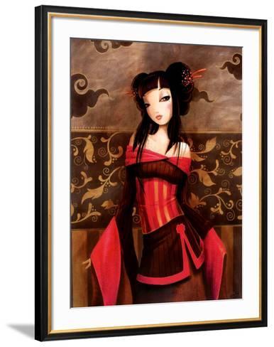 Sambre-Misstigri-Framed Art Print