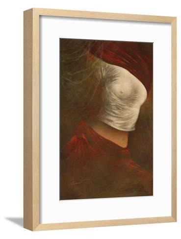 Misty Woman II-Alijan Alijanpour-Framed Art Print