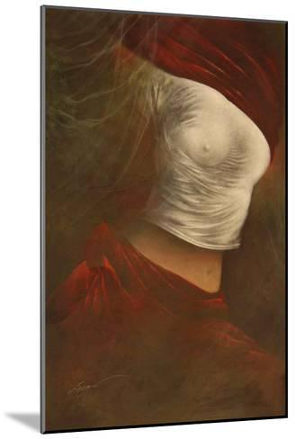 Misty Woman II-Alijan Alijanpour-Mounted Art Print