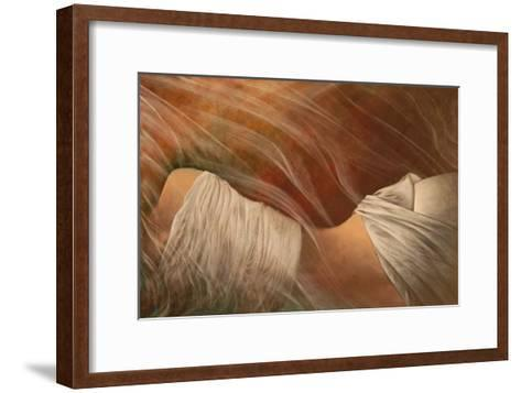 Misty Woman III-Alijan Alijanpour-Framed Art Print