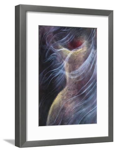 Misty Woman IV-Alijan Alijanpour-Framed Art Print