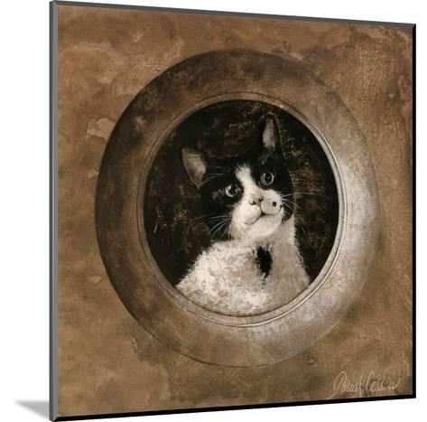 The Black and White Cat-Pascal Cessou-Mounted Art Print