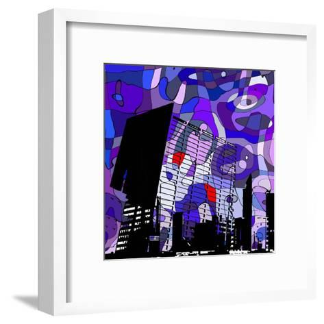 Urban Color II-Jean-Fran?ois Dupuis-Framed Art Print