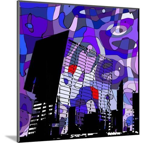 Urban Color II-Jean-Fran?ois Dupuis-Mounted Art Print