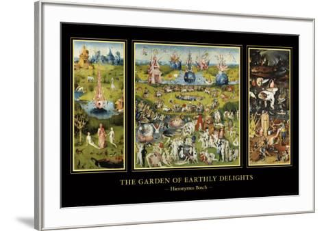 The Garden of Earthly Delights, c.1504-Hieronymus Bosch-Framed Art Print