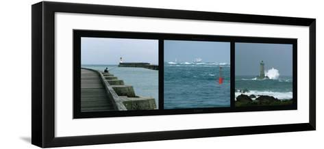 Littoral-Laurent Pinsard-Framed Art Print