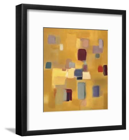 Song in Gold-Nancy Ortenstone-Framed Art Print