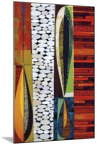 Paso-doble-Rex Ray-Mounted Art Print