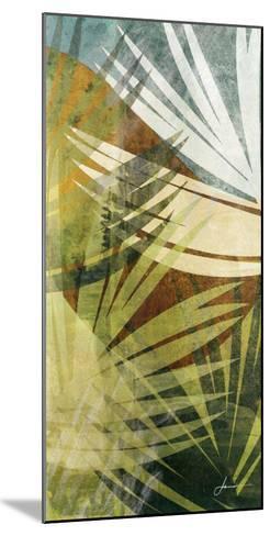 Palm Frond II-James Burghardt-Mounted Art Print