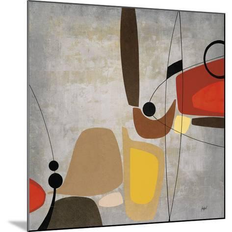 Logic & Balance II (silver)-Danielle Hafod-Mounted Art Print