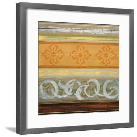 Regal Quilt I-Danielle Hafod-Framed Art Print
