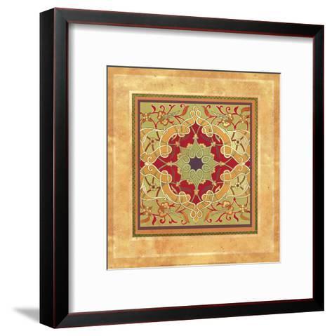 Italian Tile VII-Paula Scaletta-Framed Art Print