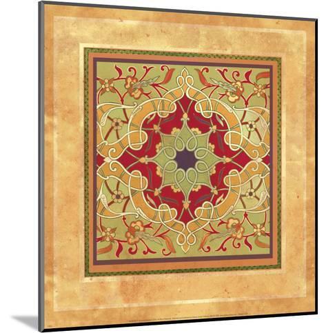 Italian Tile VII-Paula Scaletta-Mounted Art Print