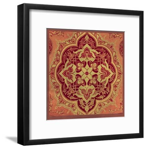 Persian Tiles I-Paula Scaletta-Framed Art Print