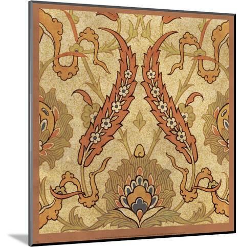 Persian Tiles III-Paula Scaletta-Mounted Art Print