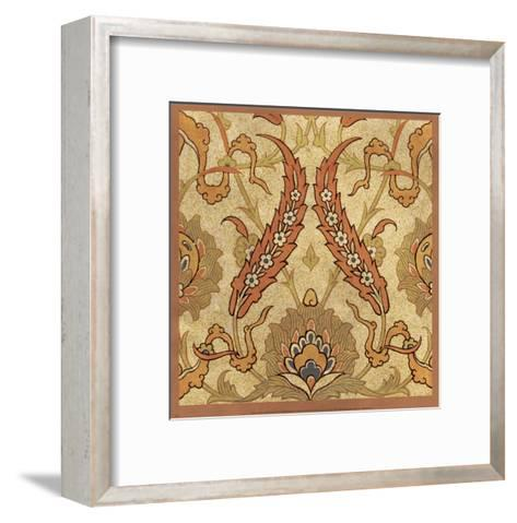 Persian Tiles III-Paula Scaletta-Framed Art Print