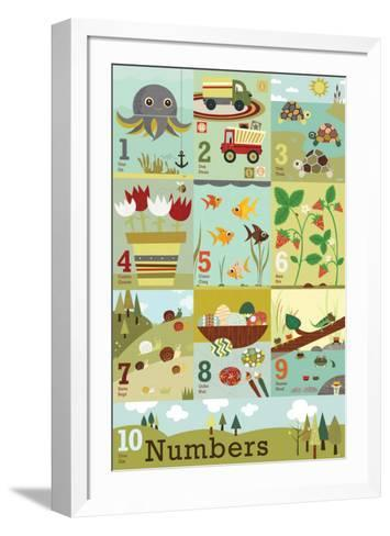 Counting to Ten-Jenn Ski-Framed Art Print