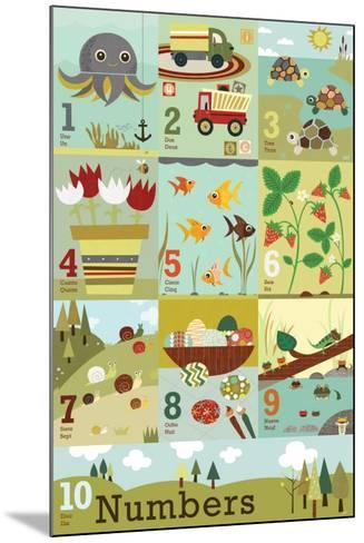 Counting to Ten-Jenn Ski-Mounted Art Print