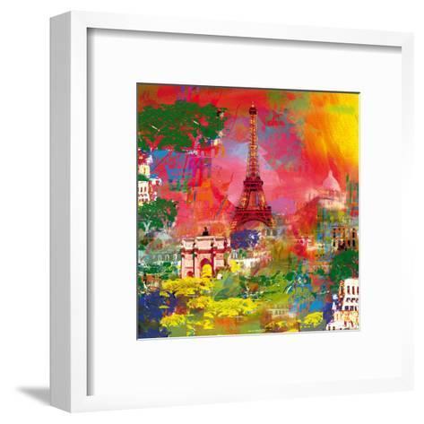 Paris-Robert Holzach-Framed Art Print