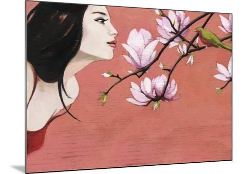 Camellia-Aline Bereau-Mounted Art Print