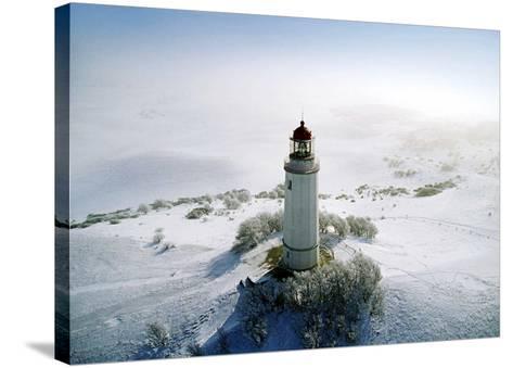 Lighthouse, Hidensee Island, Germany-Eller Brock-Stretched Canvas Print