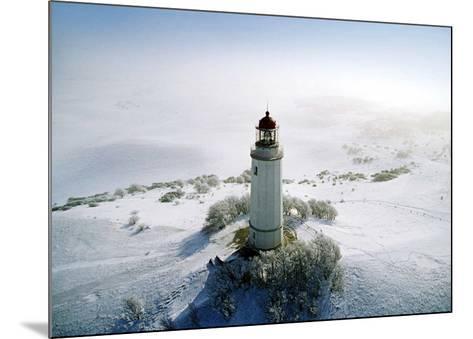 Lighthouse, Hidensee Island, Germany-Eller Brock-Mounted Art Print