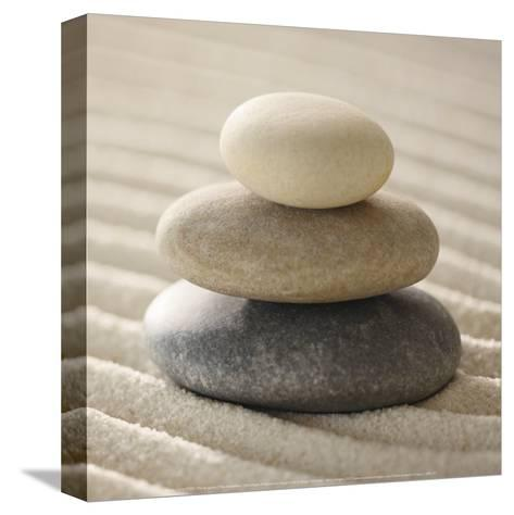 Pile of Pebbles-Gregor Schuster-Stretched Canvas Print