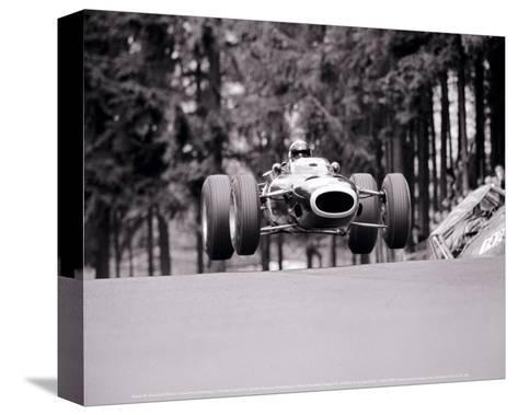 French Grand Prix, c.1965-Rainer W^ Schlegelmilch-Stretched Canvas Print