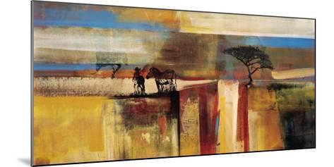 Etosha Zebra-Frances Schandera-Mounted Art Print
